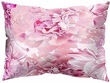 Watopi Soft Flower Throw Pillow Case Tropical