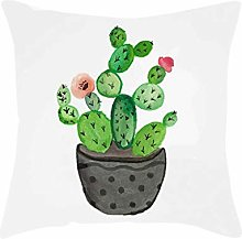 Watopi Summer Tropical Cactus Succulent Cushion