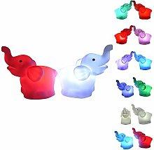 Watopi Super Cute Elephant Night Light Lamp 7