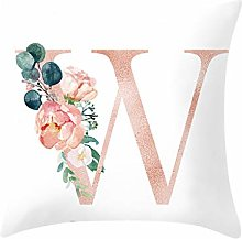 Watopi Super Soft Pillowcase, Alphabet Letter