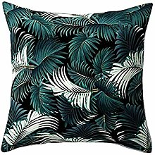 Watopi Vintage Flower Cushion Cover,Tropical
