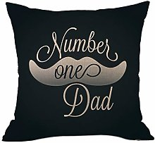 Watopi Vintage Throw Pillow Cover I Love Dad Ever