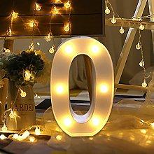 WATOPI Warm Bright Alphabet Letters Digital Sign