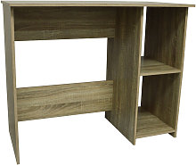 WATSONS - Compact Desk / Computer Workstation - Oak