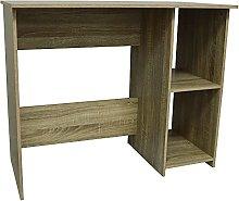 WATSONS - Compact Desk/Computer Workstation - Oak