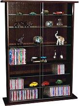 Watsons Glass Display Cabinet / 600 CD / 255 DVD