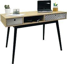 Watsons RETRO - 2 Drawer Office Computer Desk /
