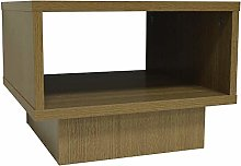 WATSONS - Side Bedroom Table Storage Cabinet - Oak