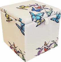 Watsons Square Storage Ottoman Stool / Blanket Box