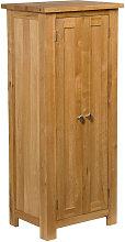 Waverly Oak 2 Door Narrow Storage Cabinet with