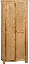 Waverly Oak Full Hanging Wardrobe in Light Oak