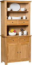 Waverly Oak Small Dresser Display Cabinet in Light