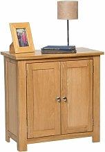 Waverly Oak Small Storage Cabinet in Light Oak