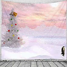 WAXB Tapestry Christmas Holiday Party Tapestry Art