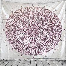 WAXB Tapestry Indian Mandala Tapestry Hanging