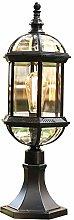 Way lamp Exterior E27 Retro Garden Weatherproof