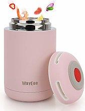 WayEee Food Flasks for Hot Food Kids 460ml Vacuum