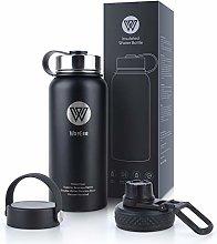 WayEee Vacuum Insulated Water Bottle, 950ml