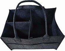 Waymeduo Basket Storage Felt Bag Shopping Basket