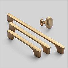 WAYYQX Barn Door Handle Gold Cabinet Knobs And