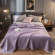 WAZMM Quilted Bedspreads-Ultrasonic Honeycomb