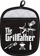 WCGXKO Grill Master BBQ Lover Gift The Grillfather