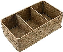 WCIC Storage Basket, Seagrass Weaving Storage Box