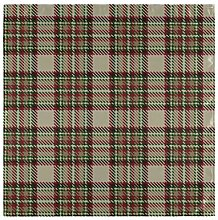 WDDHOME Fancy Napkins Disposable Blue Checkered