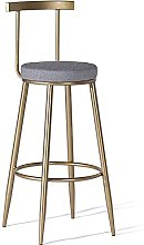 Wddwarmhome Counter Height Bar Chair with Back,