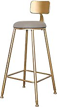 Wddwarmhome Faux Leather Upholstered Bar Stools