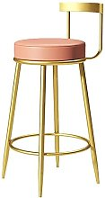 Wddwarmhome Furniture Upholstered Round Seat Bar