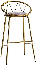 Wddwarmhome Modern High Bar Stools for Kitchen Low