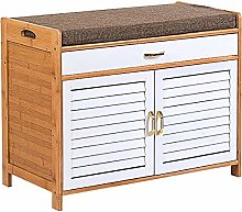 Wddwarmhome Shoe Shoe Cabinet Storage Solid Wood