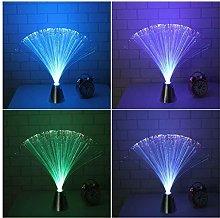 Wde Led Fairy Lights,6PCS LED Fiber Optic Desk