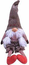 WDFVGEE Handmade Christmas Ornaments Gnome Tomte