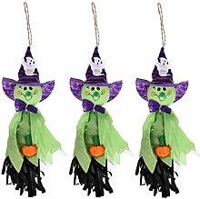 WDM 3 Pcs Halloween Decoration Hanging Ghost,