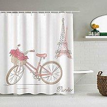 Wdoci Shower Curtain,Thanksgiving,Christmas