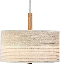 WDXJC Japanese Fabric Linen Shade Chandelier With