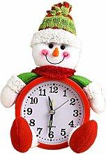 WE-WHLL Christmas Alarm Clock Christmas Eve Doll
