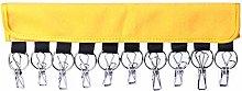 WE-WHLL Portable cloth hanger hanger paste hat