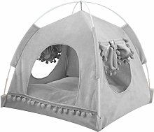 WE-WHLL Portable Foldable Cat Dog Tent House