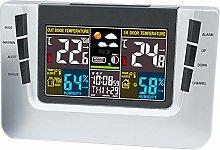Weather Station LCD Digital Alarm Clock Forecast