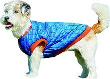 Weatherbeeta Puffer Dog Coat (75cm) (Blue/Flame)
