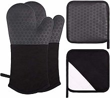 webake Heat Resistant Gloves Silicone Oven Gloves