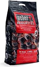 Weber Barbecue Charcoal Briquettes 8kg - Fuel The