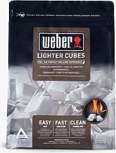 Weber BBQ Lighter Cubes, 417g