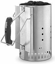 Weber Chimney Starter (7416) & Free Weber Grill