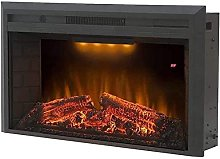 WECDS Fireplace Electric Wall Recessed Mounted