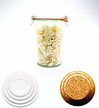 Weck Canning Jar 743-3/4 L Weck Mold Jars made of