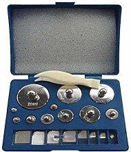 Weddecor 510g Calibration Tool Nickle Plated High